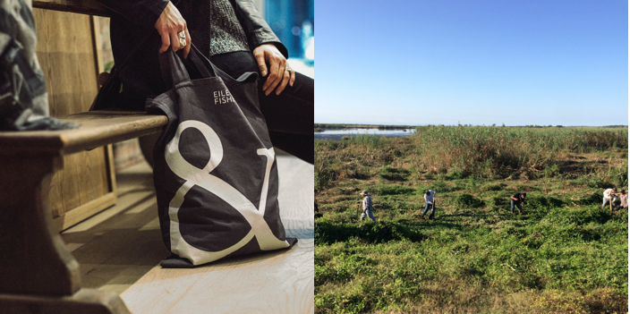 Restore the Earth Partners with EILEEN FISHER in Their Reusable Bag Campaign