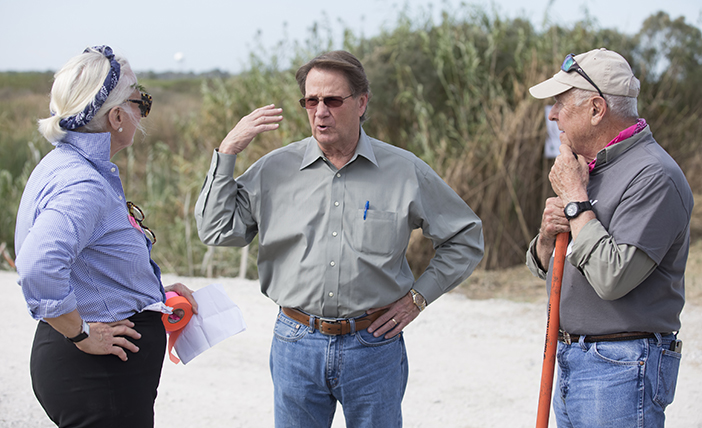 Press Release: Melancon pledges LDWF support to Restore the Earth's restoration effort