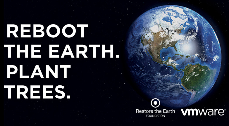 Restore the Earth Joins Partner VMware for Earth Day Activation