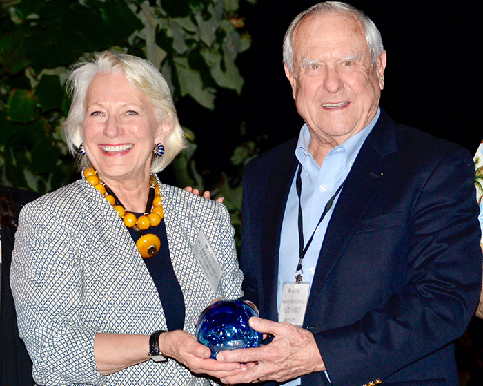 Restore the Earth Co-Founders Receive Pioneers for the Planet Award at East-West Philanthropy Summit